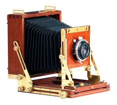 The Rayment 5 x 4 inch Field Camera