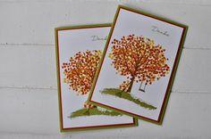 Herbstbaum - stempeldichbunt