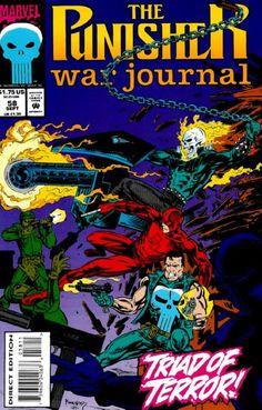 The Punisher: War Journal vol 1 #58