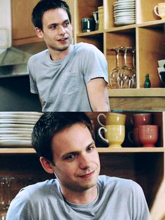 YOU are my cup of tea Mike Ross Suits Patrick J Adams Suits Tv Series, Suits Tv Shows, Gabriel Suits, Mike Ross Suits, Patrick J Adams, Suits Usa, Gabriel Macht, Claudia S, Photo P