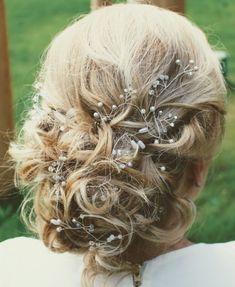 Hair Vine Silber Hair Vine, Bobby Pins, Vines, Hair Accessories, Beauty, Fashion, Hair Pins, Veils, Hair Jewelry