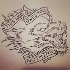 this world owes you nothing