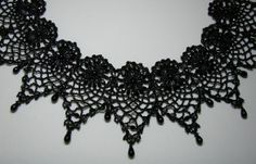 lace & beaded collars - Google Search