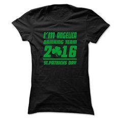 (Tshirt Choose) ANGELICA STPATRICK DAY 99 Cool Name Shirt [TShirt 2016] Hoodies, Funny Tee Shirts