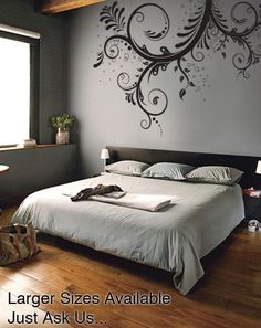 Stickerbrand Vinyl Wall Art Decal Sticker Floral Ornaments Flower #310A:Amazon:Everything Else