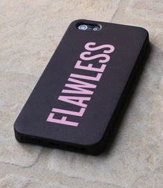 Flawless iPhone Case Beyonce Beyoncé iPhone 5 Case Case for iPhone 4 4s 5 5s Samsung Galaxy S4 HTC ONE - Hard Case chanel