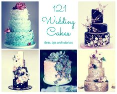 These wedding cakes are simply amazing! All 121 of them, check them out http://www.coolcrafts.com/wedding-cake-ideas/