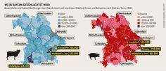 Wo in Bayern geschlachtet wird.