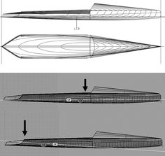 The latest 2014 Steve Clark (USA) canoe Gaijin. Stand Up Paddle, Sup Paddle, Cool Boats, Small Boats, Yacht Design, Boat Design, Sup Racing, Wooden Paddle, Remo