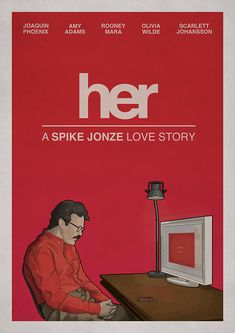 Her #Movie #Poster #MoviePoster