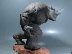 Rhino Sculpture 4 by loqura on deviantART