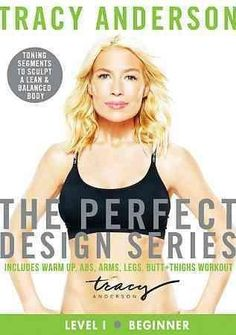 Fitness trainer Tracy Anderson's 55-minute workout program is designed to build muscle strength and tone the body, and consists of a warm up and sequences for the abs, arms, legs, buttocks, and thighs