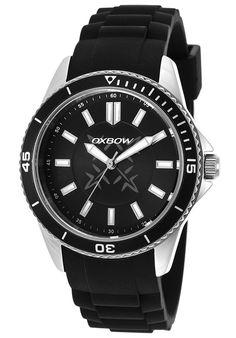 Oxbow Watches Men's Black Silicone Black Dial 4549701,    #Oxbow,    #4549701,    #Fashion