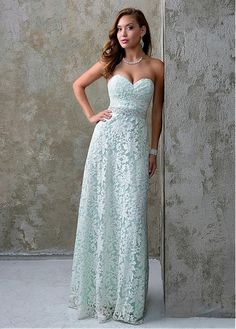 Fantastic Lace Sweetheart Neckline A-Line Prom Dresses With Beadings