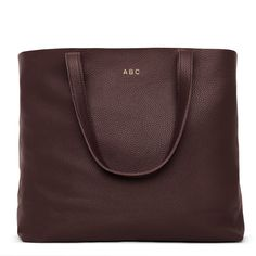 Classic Leather Tote | Cuyana