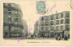 92. LEVALLOIS PERRET . Place Chaptal .