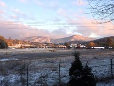Brad Panovich WCNC shared Reid Beloni's photo. Great shot of a snow covered Boone at 8am this morning from Reid Beloni.