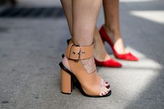 What to Wear With Block Heels | StyleCaster