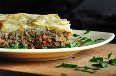 Vegetarian Mushroom Shepherd's Pie from 5 Vegetarian Thanksgiving Mains That Aren't Tofurky [Slideshow]