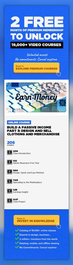 Build a Passive Income Part 3: Design and Sell Clothing and Merchandise Fashion Design, Logo Design, Home Business, Adobe Illustrator, Lifestyle, Passive Income, Creative, Freelance, Zazzle #onlinecourses #learning #onlineprogramscomputers   In Part 3 we will look at a second way to make an income online. The method shown here will involve a new, more creative process than we used in Part 1. There...