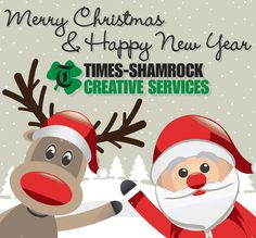 Happy Holidays And Best Wishes For A Great New Year From All Of Us At TSCS!