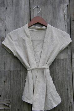 #linen wrap  white blouse #2dayslook #white style #blousefashion  www.2dayslook.com