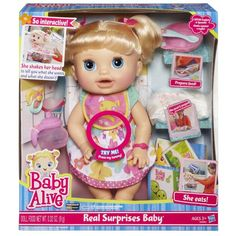 Baby Alive Real Surprise Baby. The best baby alive in my opinion.