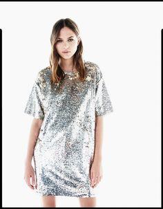 Reversible sequins T-shirt - T-Shirts - Bershka Serbia