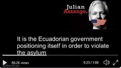 : Julian's last audio message before arrest Press Release, Presentation, Audio, Positivity, The Unit, Messages, Writing, Writing Process, Optimism