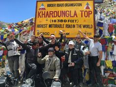 Himalaya offers great adventure of riding motorcycle & ride to highest motorable road at 18380 feet & visit spectacular Buddhist monasteries & meet with monks, explore high altitude soda lakes on bike trip to leh ladakh with Royal Bike Riders. details are here http://www.royalbikeriders.com/top-of-the-himalayas.htm