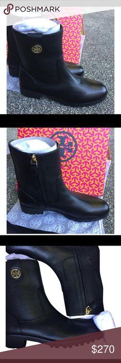 NIB Tory Burch Elina Booties NIB Tory Burch Elina Booties in Black Tory Burch Shoes Ankle Boots & Booties