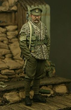 Sergeant, 2nd Battalion of the Royal Welsh Fusiliers, Ploegsteert Wood 1915. New and in stock! $18