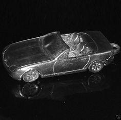 Original  MERCEDES  SLK Anhänger Schlüsselanhänger 27,5 Gramm