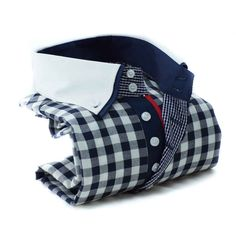 NATE Navy check with white  http://www.botagi.com.au/collections/mens-shirts/products/boaa2s13