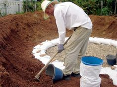 DIY Earthbag Dome Home – DIY projects for everyone! Earth Bag Homes, Living Roofs, Mother Earth News, Backyard Sheds, Backyard Landscaping, Dome House, Earthship, New Laptops, Round House