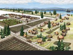 Fort Vancouver National Historic Site ~ Vancouver ~ Washington