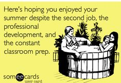 Send it to a teacher you know! A VIVA Teachers Project original from Some Ecards.