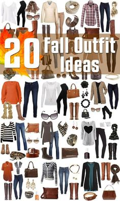 Great 20 Fall Fashion Outfit Ideas so ready for fall