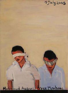 By Leon Vermeulen entitled: Die Iranese seuns, olie op doek, 122 x 89 cm For more please visit www.finearts.co.za Art, Art Background, Kunst, Performing Arts, Art Education Resources, Artworks