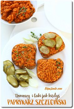 PAPRYKARZ SZCZECIŃSKI Kefir, Chana Masala, Tandoori Chicken, Baked Potato, Potatoes, Baking, Ethnic Recipes, Food, Potato