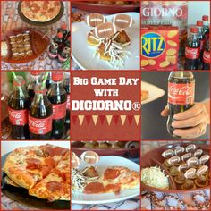 Big Game Day with Digiorno!  So many big games ahead it's time to plan awesome parties.