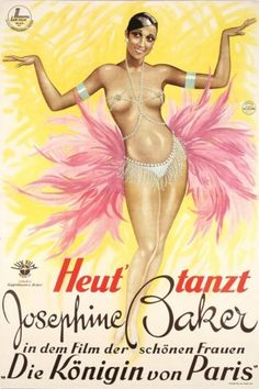 Classic pin-up: Josephine Baker.
