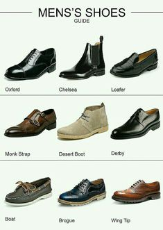 What will I learn from the Lesson about shoes? In this lesson you will learn the vocabulary for the different types of shoes for women and men. Shoes for women and men Mens Business Casual Shoes, Business Shoes, Mens Hipster Shoes, Casual Boots For Men, Mens Shoes With Shorts, Der Gentleman, Gentleman Shoes, Types Of Shoes Men, Style Masculin
