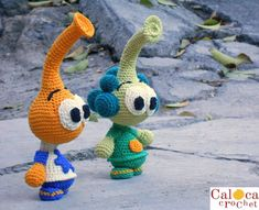 Snorkels Allstar Tooter amigurumi patterns. By by CalocaCrochet