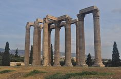 VISIT GREECE| Olympeion Archaeological site, #Athens, Attica