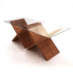 base para mesa de vidro retangular 3