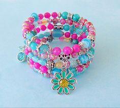 Boho Bracelet Layered Bracelet Bohemian Jewelry by BohoStyleMe