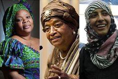 2011 Nobel Peace Prize Winners