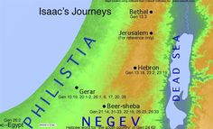 Gaza has always been an area of conflict for the Jews.  Isaac, the promised son of Abraham and Sarah was born between Beersheba and Gaza.  Genesis 20:1-3, 11-12; 26:1, 7.