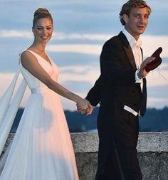 El vestido de novia de Beatrice Borromeo, firmado por Armani